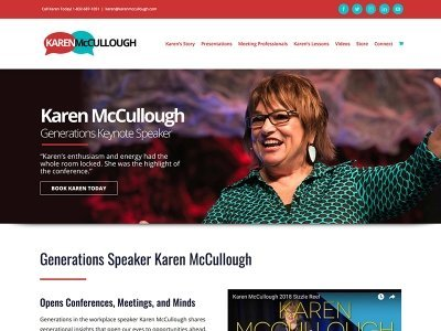 KarenMcCullough.com | Generational Speaker
